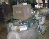 Electrical Holding Furnace with Degasser